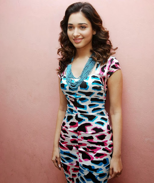 Tamanna Bhatia in Cute Dress Stills