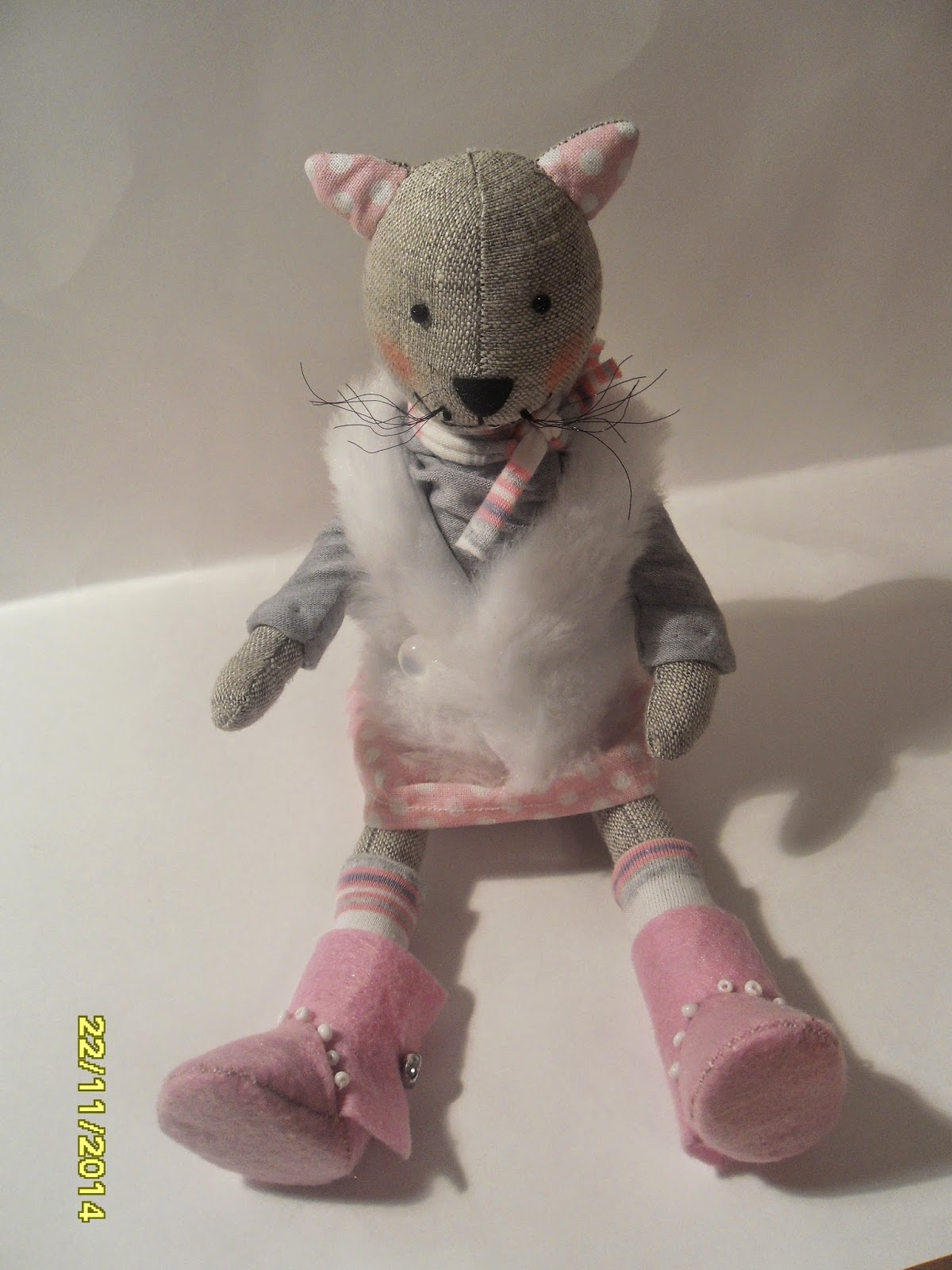котик тильда в одежде