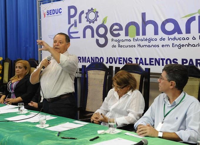 """Governo do Amazonas lança os programas """"Pró-Engenharias"""" e """"RH-TI"""""""