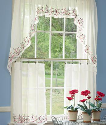 modern furniture luxury kitchen curtains design ideas 2012