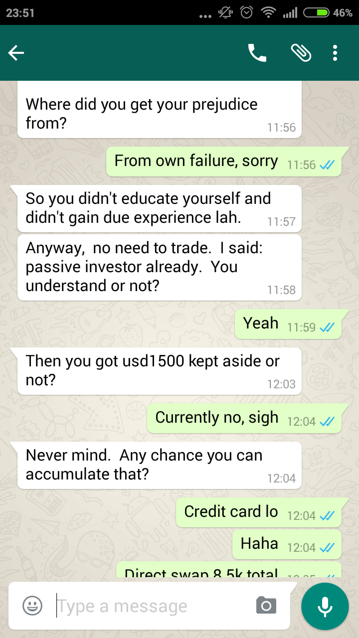 Successful forex trader