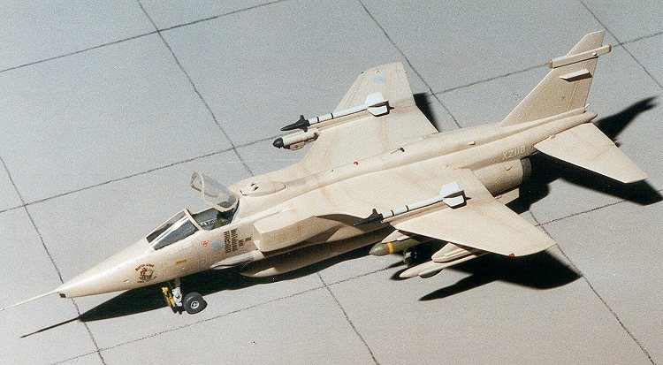Jaguar GR.1 Low-altitude Ground Attack Aircraf