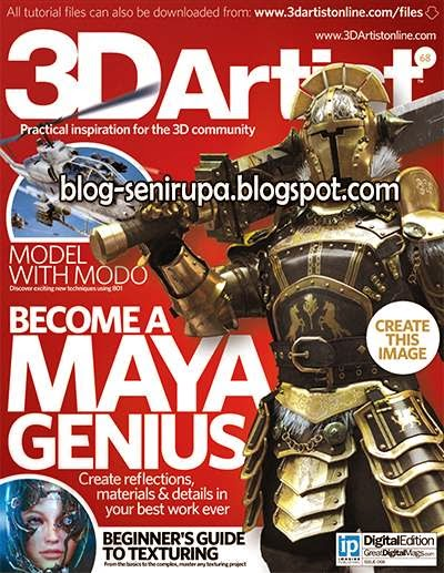 3D Artist Magazine Issue 68 May 2014