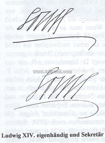 autographes et manuscrits l 39 autographe de louis xiv un probl me pineux. Black Bedroom Furniture Sets. Home Design Ideas