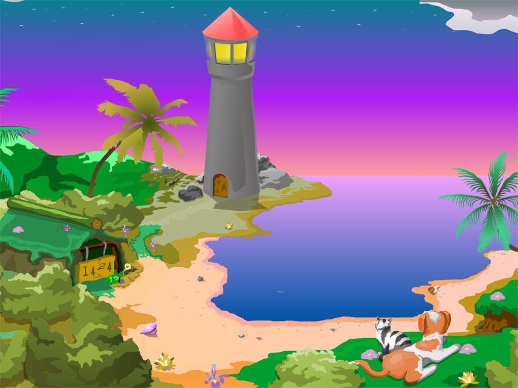 Animated Lighthouse Screensavers