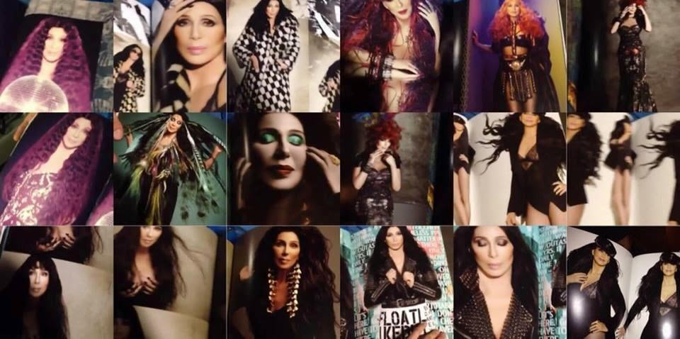 Cher's 'Dressed To Kill Tour' tour book