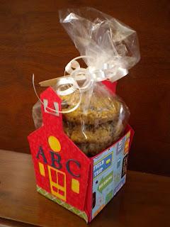 Cricut, Wrap It Up, Schoolhouse Box, Plantin Schoolbook