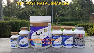 set postnatal shaklee