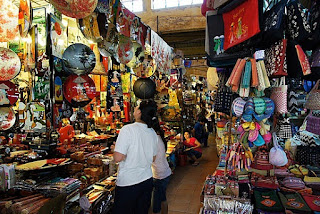 Ben Thanh Market inside