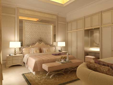 desain kamar tidur klasik modern