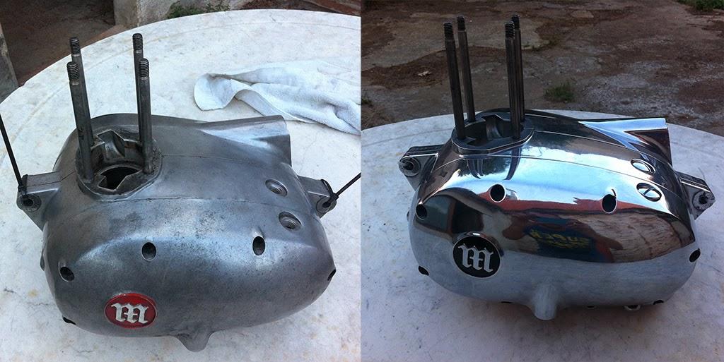 Restauraci n de una impala turismo el proceso casero - Como limpiar aluminio oxidado ...