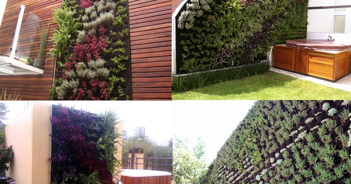Casas y jardines verticales roof garden dise o y for Jardines verticales casa