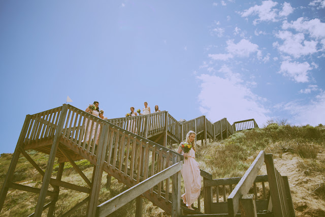 beach wedding photography vic