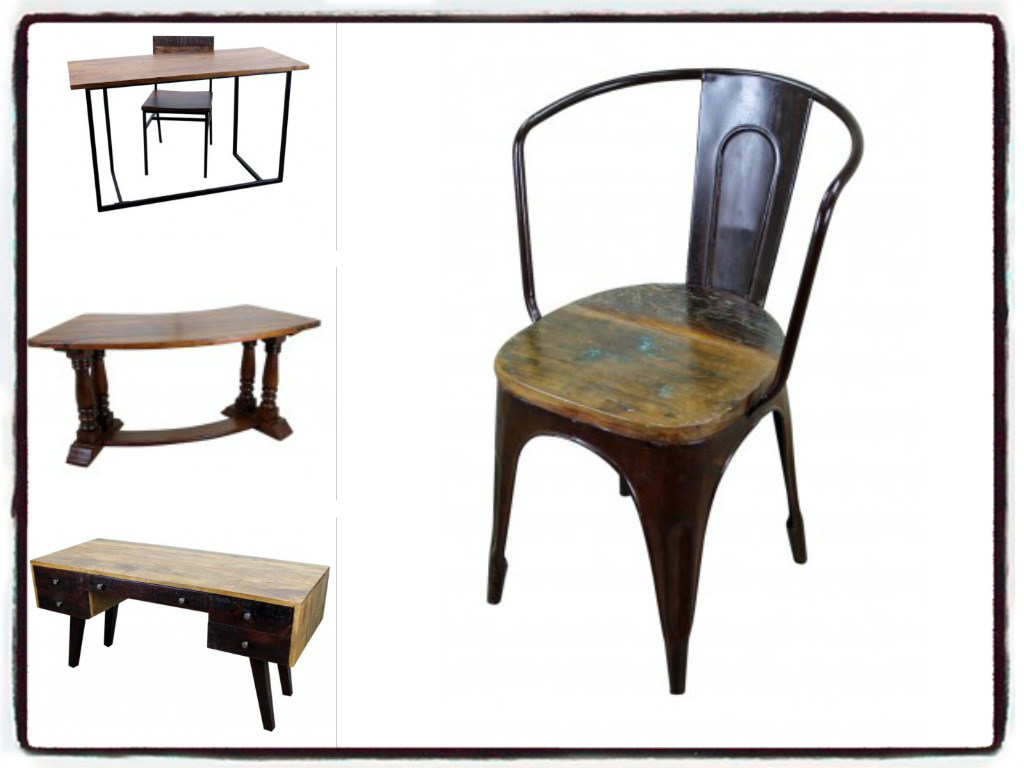 Amazing Reclaimed Office Desk Rustic Ranch Furniture.