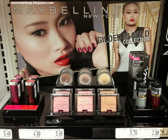 Maybelline Limited Edition Gilded in Gold Collection