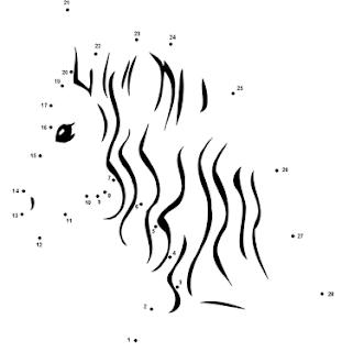 Horse Dot To Dot Printables Free