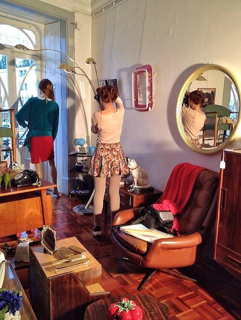 sessões fotográficas, espaço, adereços, vintage, a Porta Verde
