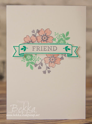 Bloomin' Love Friendship Notecard - get everything you need here