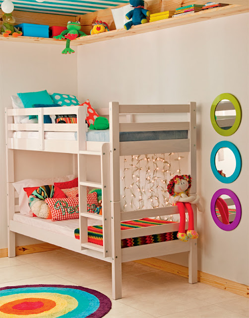 DORMITORIO PEQUEÑO PARA NIÑO Y NIÑA ~ Fotos de dormitorios