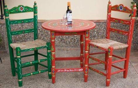 Silla andaluza crafts pinterest sillas for Sillas para viejitos