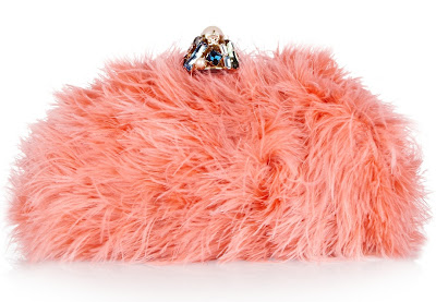 Dolce & Gabbana Feather Clutch
