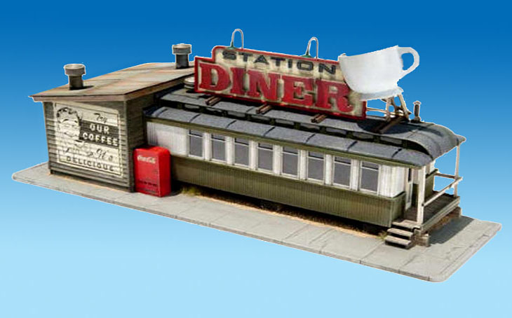 Classic american diner from stoney creek designs megamag 2 for American classic diner