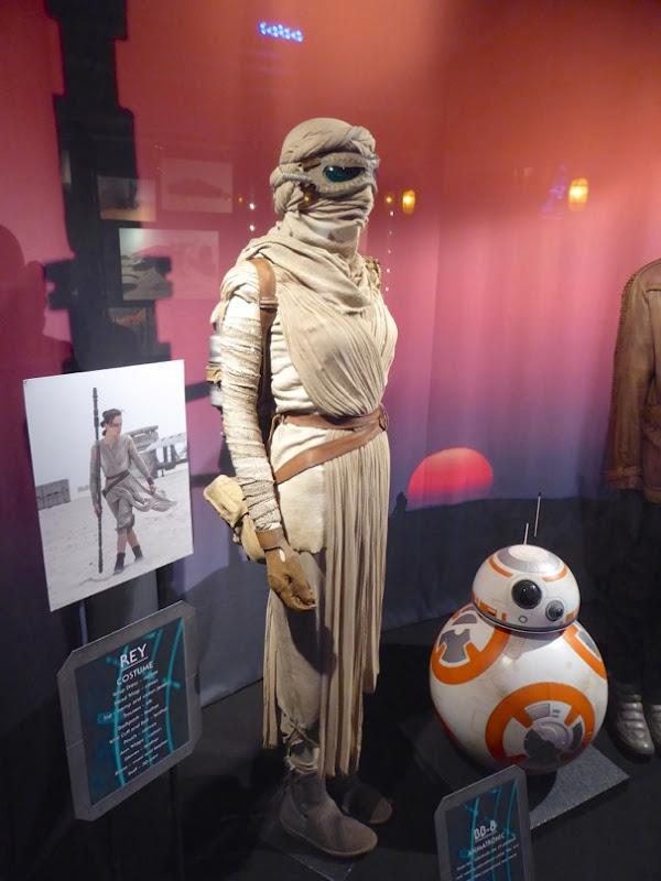 Star Wars Force Awakens Rey costume BB-8