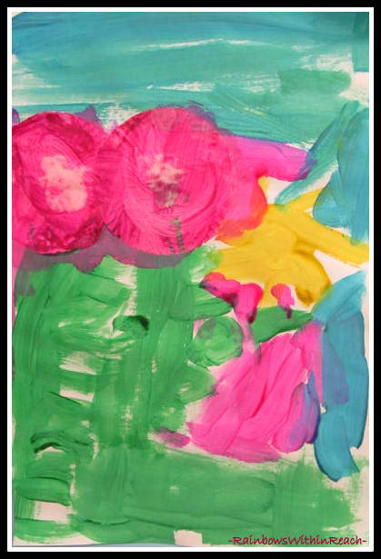 photo of: Mother's Day Art Project for Preschool via RainbowsWithinReach