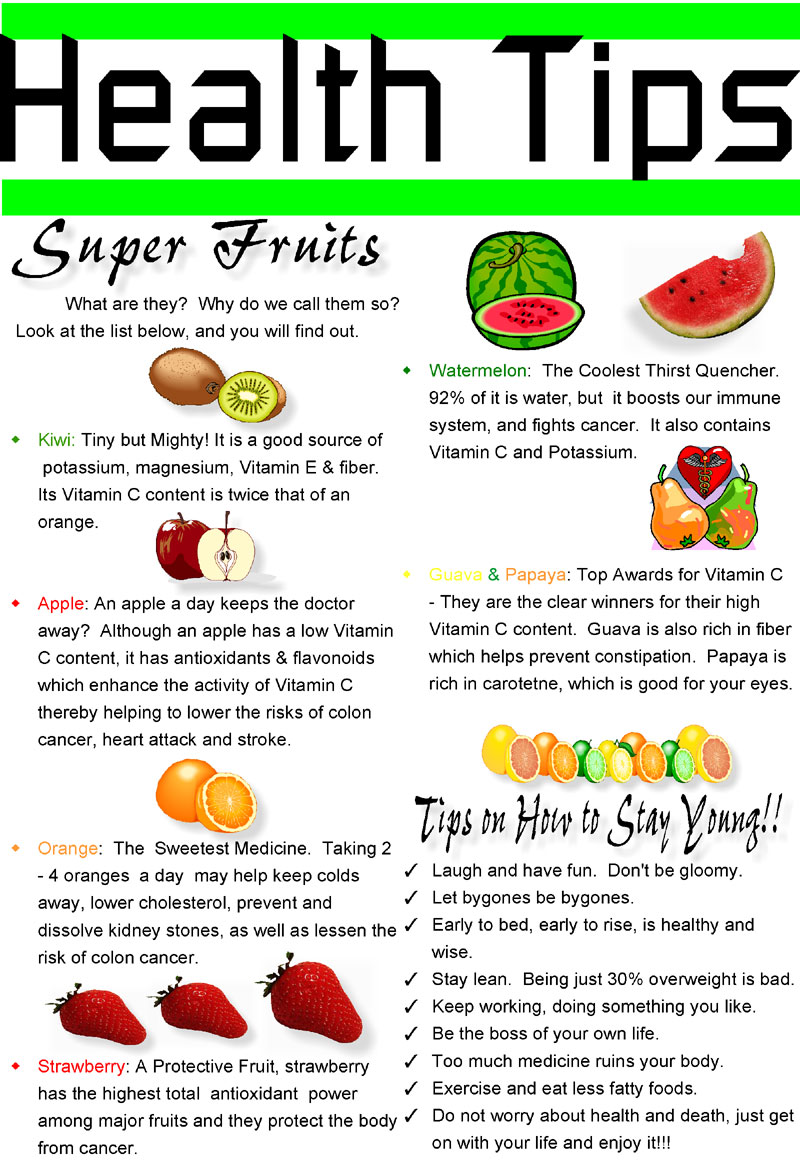 is a fruit diet healthy super fruits