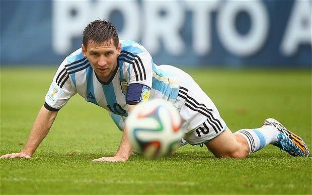 Piala Dunia 2014: Jaringan Messi Ranapkan Harapan Switzerland