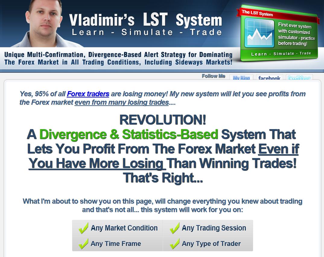 Vladimir's Forex Lst System