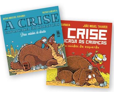A Crise Explicada às Crianças, João Miguel Tavares, Nuno Saraiva, Vítor Gaspar