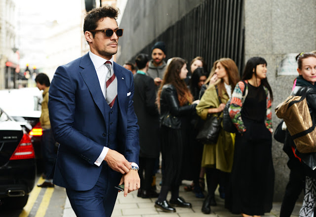 street style london collections men menswear david gandy tommy ton