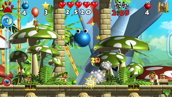 Screenshot of video game Putty Squad, which is coming to the Wii U and 3DS.