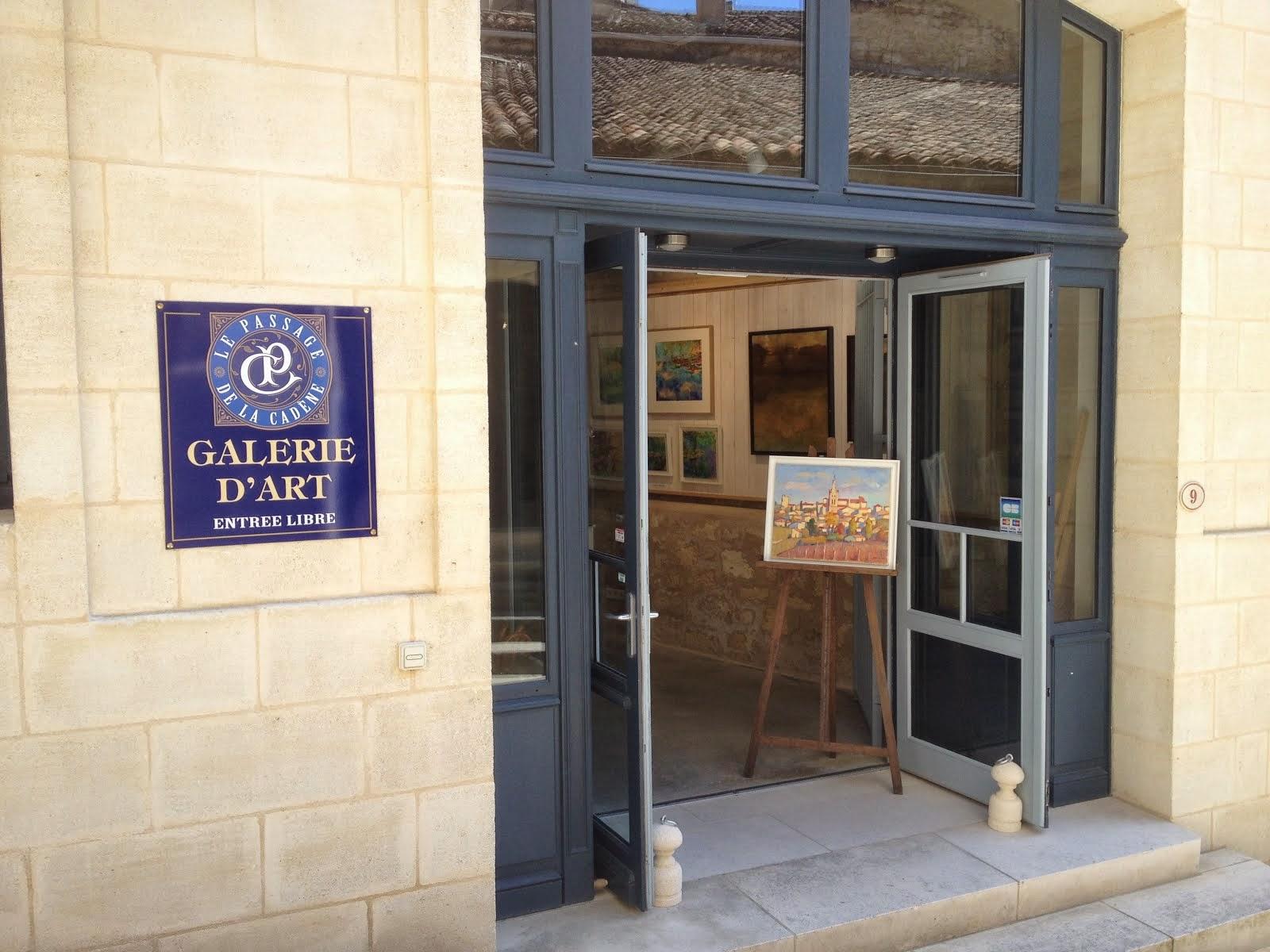 SAINT-ÉMILION - GALERIE LE PASSAGE DE LA CADENE
