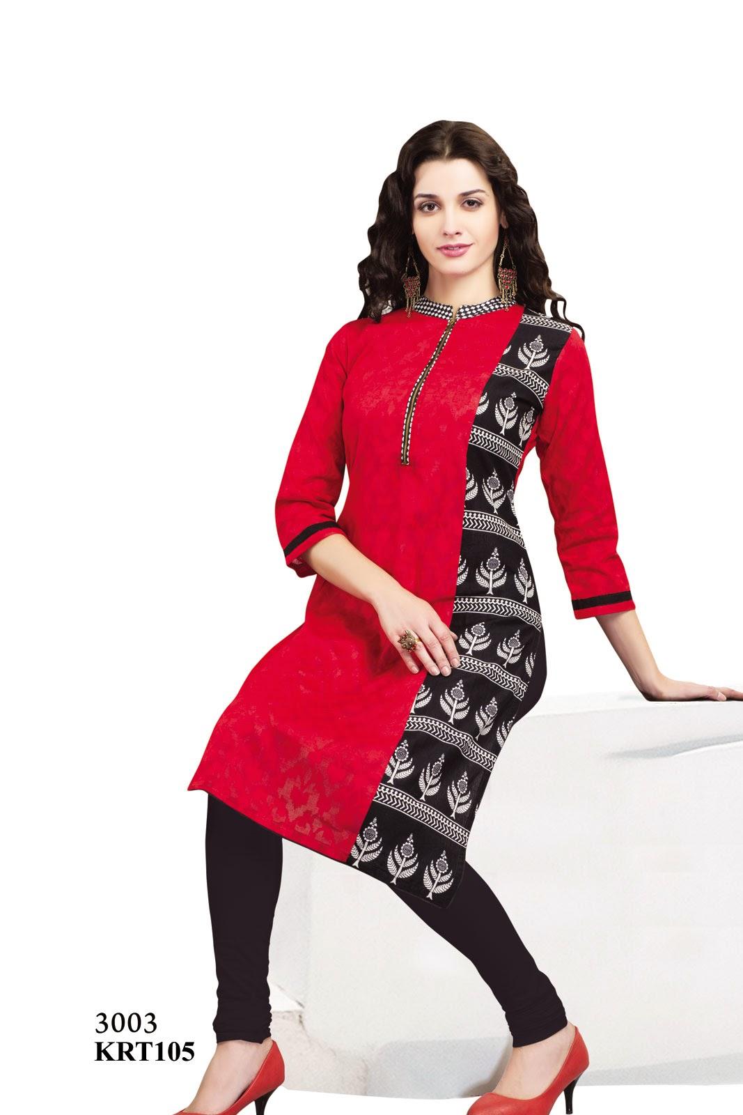 Buy Latest Designer Cotton Kurti Exporter Helix Enterprise