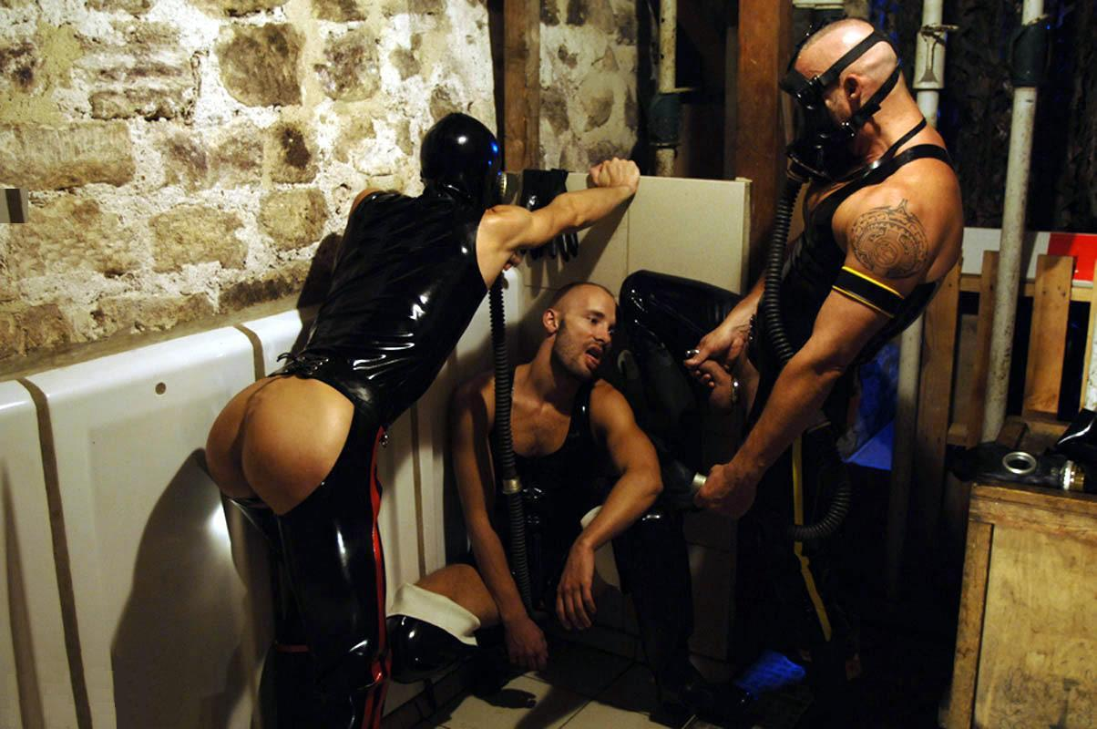 Extreme gay bondage porn black on white xxx