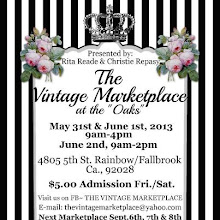 the vintage marketplace - friday, may 31st through sunday, june 2nd