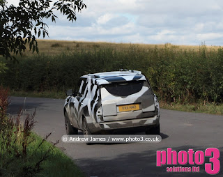 spy shot photos of New Range Rover 2012