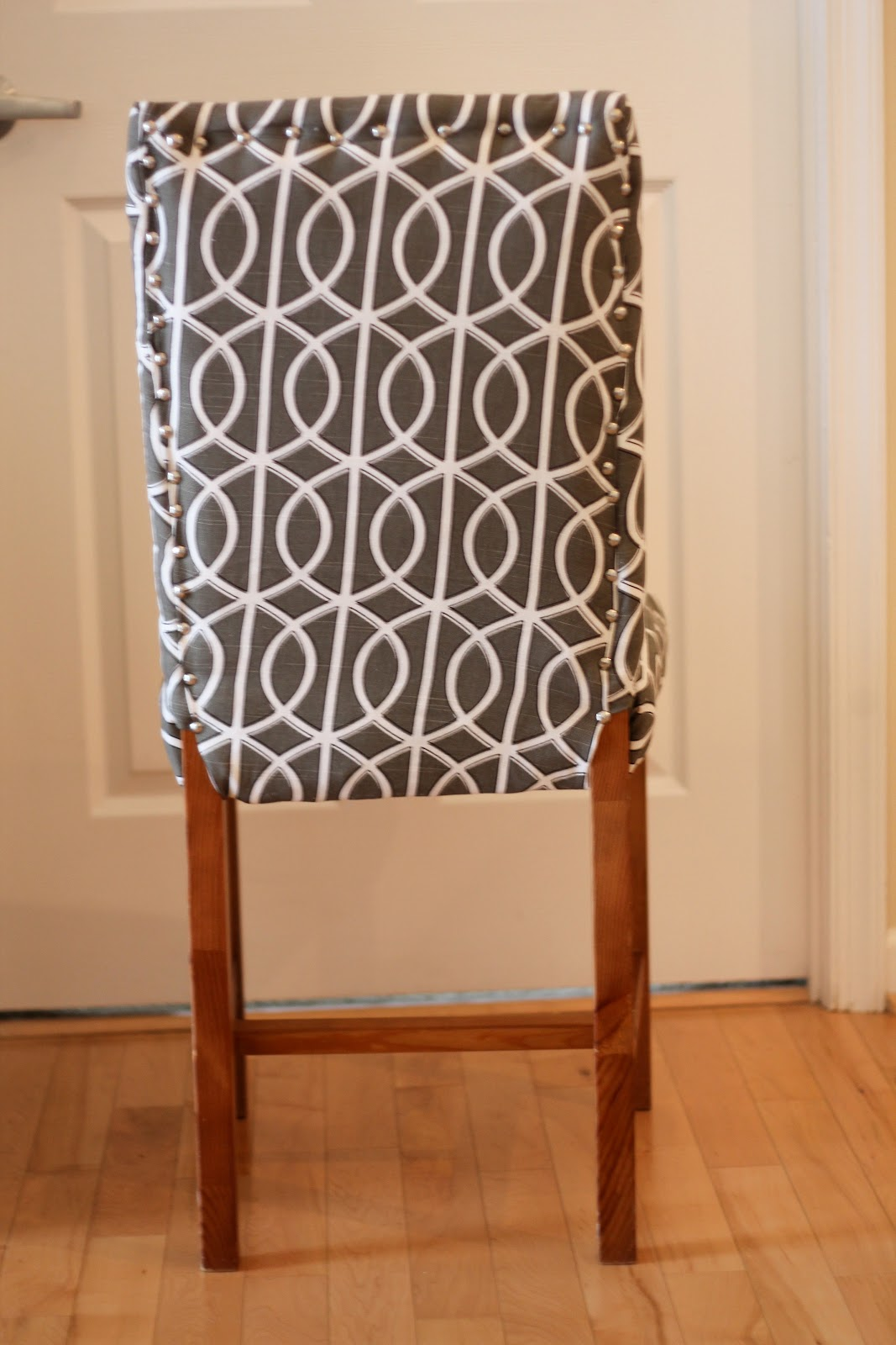 style wednesday perk diy upholstering an ikea dining chair - Reupholstered Dining Room Chairs