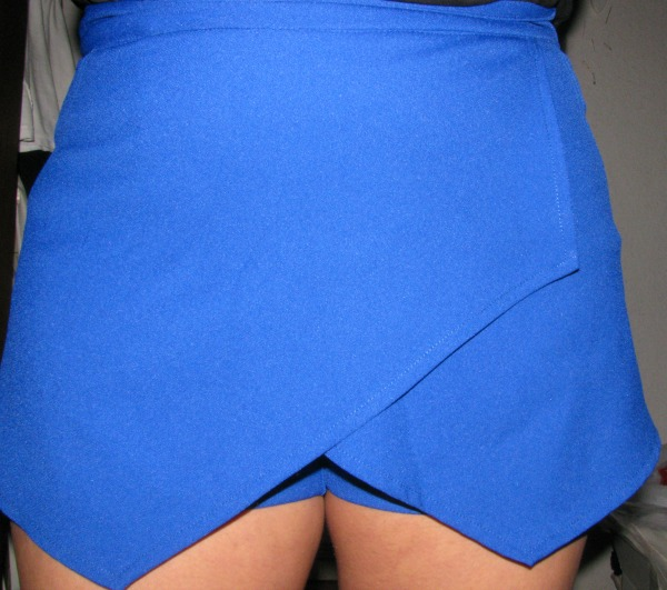 Blue skorts from Persunmall