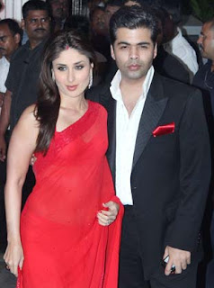 Kareena at Director Rohit Shetty's sister's wedding