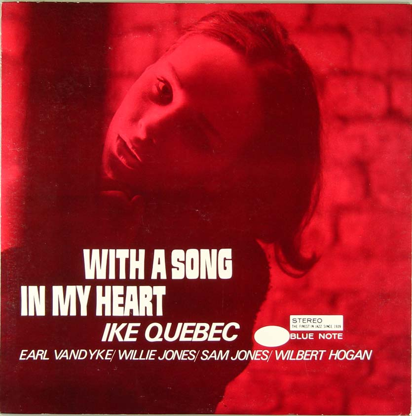 ike quebec - with a song in my heart (sleeve art)