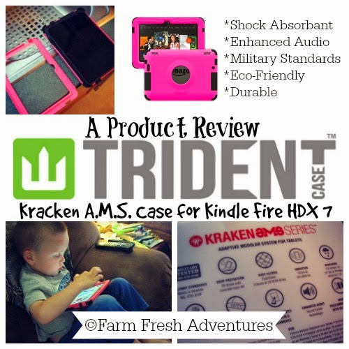 kracken trident case for kindle review