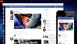 Cara Mengubah Facebook ke Tampilan Keren Terbaru 2013