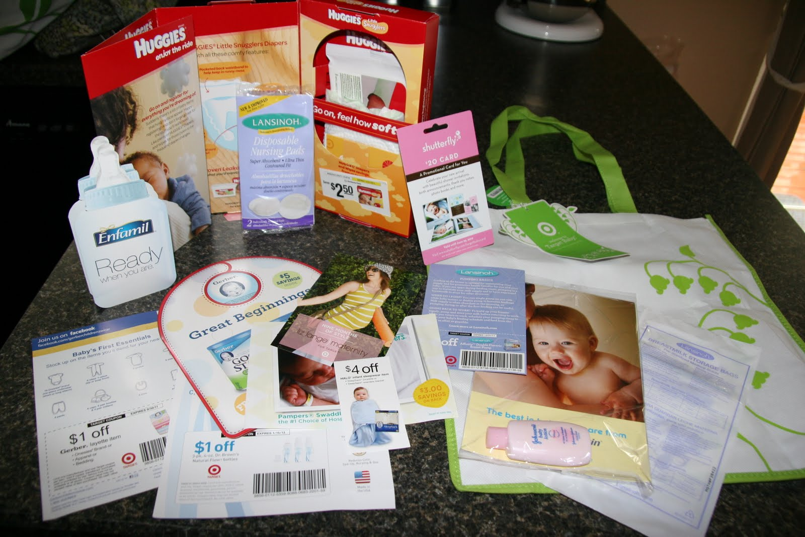 fabulely frugal mom it pays to register  literally, Baby shower