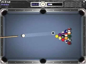 Cue Club 8 Snooker Game