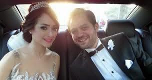 نادر نور و زوجته