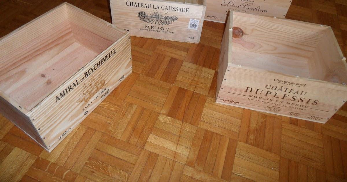 Reutilizar y crear muebles con cajas de vino de madera for Muebles con cajas de madera