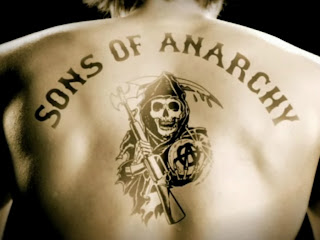 Sons of Anarch Skull Tattoo on Back HD Wallpaper